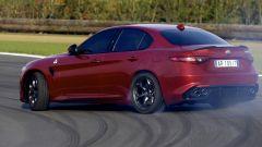 Alfa Romeo Giulia Quadrifoglio: piacere di driftare