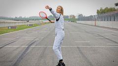 Alfa Giulia Quadrifoglio: in pista con Rachele Sangiuliano e Mara Santangelo [Video] - Immagine: 18