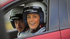 Alfa Giulia Quadrifoglio: in pista con Rachele Sangiuliano e Mara Santangelo [Video] - Immagine: 37