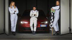 Alfa Giulia Quadrifoglio: in pista con Rachele Sangiuliano e Mara Santangelo [Video] - Immagine: 1