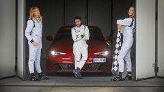 Alfa Giulia Quadrifoglio: in pista con Rachele Sangiuliano e Mara Santangelo [Video] - Immagine: 48