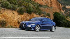 Alfa Romeo Giulia Quadrifoglio: test drive in pista - Immagine: 15