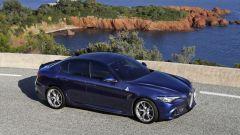Alfa Romeo Giulia Quadrifoglio: rossa non fa per voi? Tranquilli: è disponibile in altre 6 colorazioni