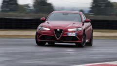 Alfa Romeo Giulia Quadrifoglio: si drifta che è un piacere