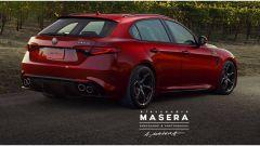 Alfa Romeo Giulia Quadrifoglio Sportwagon, il render di Alessandro Masera