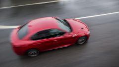 Alfa Romeo Giulia Quadrifoglio: vista dall'alto