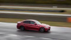 Alfa Romeo Giulia Quadrifoglio: vista laterale