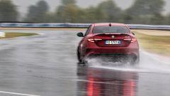 Alfa Romeo Giulia Quadrifoglio: vista posteriore