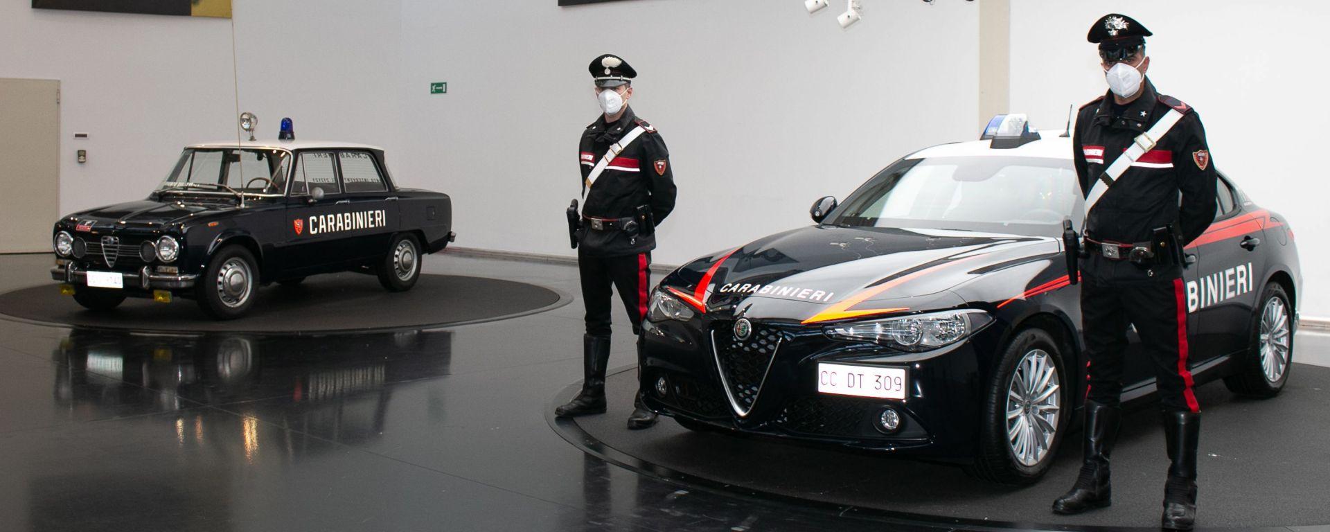 Alfa Romeo Giulia Radiomobile: la nuova Gazzella dei Carabinieri