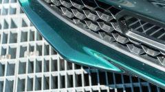Alfa Romeo Giulia Ti 2020: dettagio dello spoiler anteriore