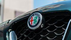 Alfa Romeo Giulia Ti 2020: dettaglio del marchio