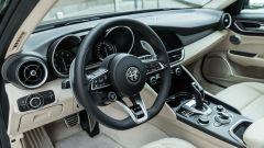 Alfa Romeo Giulia Ti 2020: gli interni