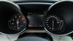 Alfa Romeo Giulia Ti 2020: il quadro strumenti analogico