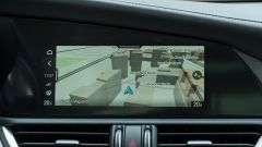 Alfa Romeo Giulia Ti 2020: lo schermo touch dell'infotainment