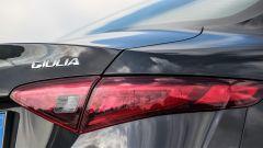 Alfa Romeo Giulia Veloce: dettaglio del fanale