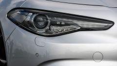 Alfa Romeo Giulia Veloce: dettaglio del faro
