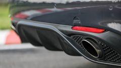 Alfa Romeo Giulia Veloce: dettaglio dell'estrattore