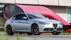 Alfa Romeo Giulia Veloce diesel: vista 3/4 anteriore