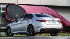 Alfa Romeo Giulia Veloce diesel: vista 3/4 posteriore