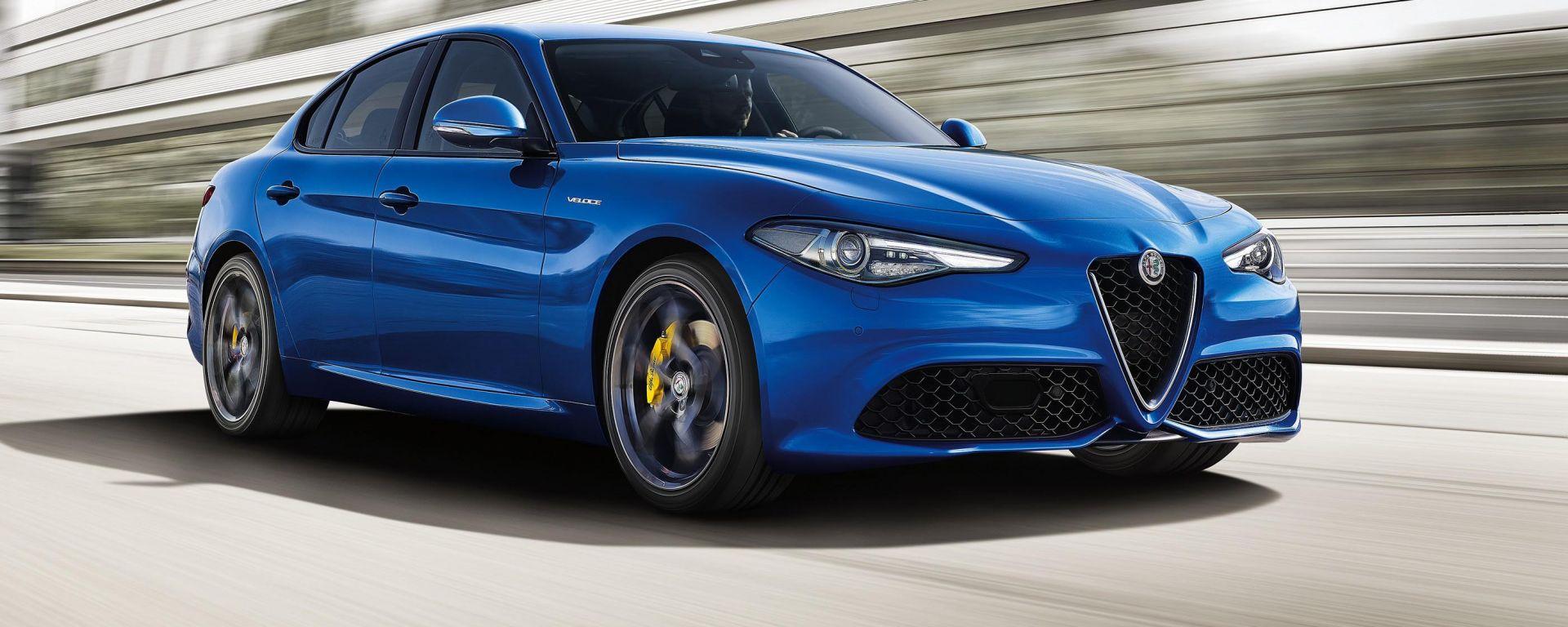 Alfa Romeo Giulia Veloce: due nuovi motori e trazione integrale Q4