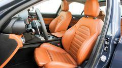 Alfa Romeo Giulia Veloce: i sedili anteriori