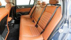 Alfa Romeo Giulia Veloce: i sedili posteriori