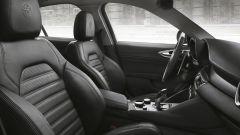 Alfa Romeo Giulia Veloce: i sedili sono di tipo sportivo