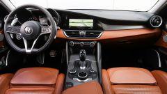 Alfa Romeo Giulia Veloce: la plancia
