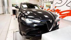 Alfa Romeo Giulia Veloce Q4, il 2 litri turbo raggiunge 303 cv