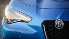 Alfa Romeo Giulia Veloce Q4: il gruppo ottico anteriore