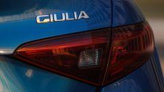 Alfa Romeo Giulia Veloce Q4: il gruppo ottico posteriore