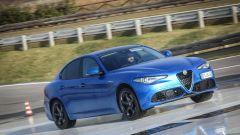Alfa Romeo Giulia Veloce Q4: in condizioni normali in 100% della coppia è inviato alle ruote posteriori