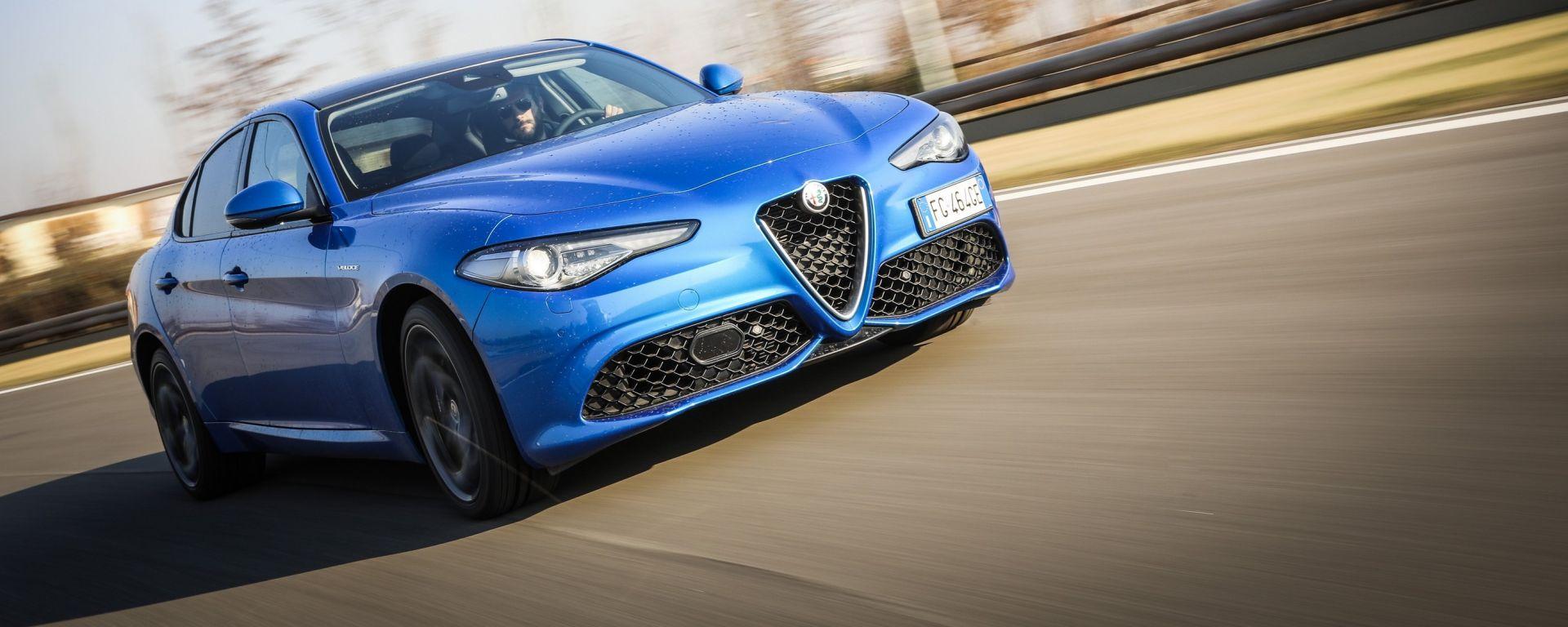 Alfa Romeo Giulia Veloce Q4: la berlina del Biscione diventa a trazione integrale