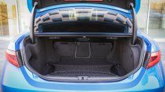 Alfa Romeo Giulia Veloce Q4: la capacità di carico è sempre di 480 litri