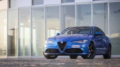 Alfa Romeo Giulia Veloce Q4: vista 3/4 anteriore