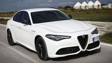 Alfa Romeo Giulia Veloce Ti: vista 3/4 anteriore
