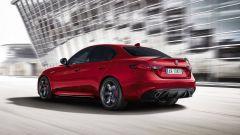Alfa Romeo Giulia Veloce Turismo Internazionale: vista 3/4 posteriore