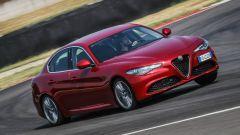 Alfa Romeo Giulia: vista 3/4 anteriore
