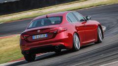 Alfa Romeo Giulia: vista 3/4 posteriore
