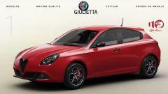Alfa Romeo Giulietta 110 Edizione: solo per il Messico
