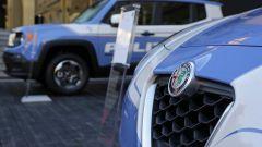 Alfa Romeo Giulietta e Jeep Renegade della Polizia