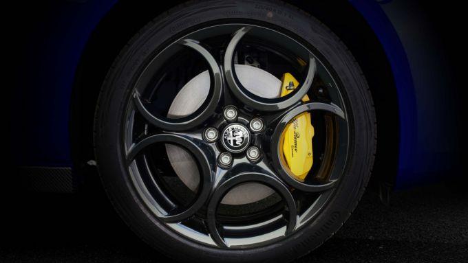 Alfa Romeo Giulietta Finale Edizione, i cerchi da 18