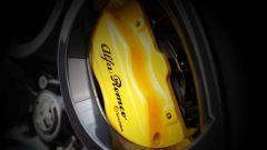Alfa Romeo Giulietta Finale Edizione, le pinze freno Brembo sono verniciate in giallo