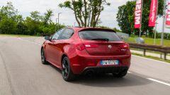 Alfa Romeo Giulietta: il posteriore