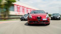 Alfa Romeo Giulietta Veloce 2019: tre generazioni a confronto