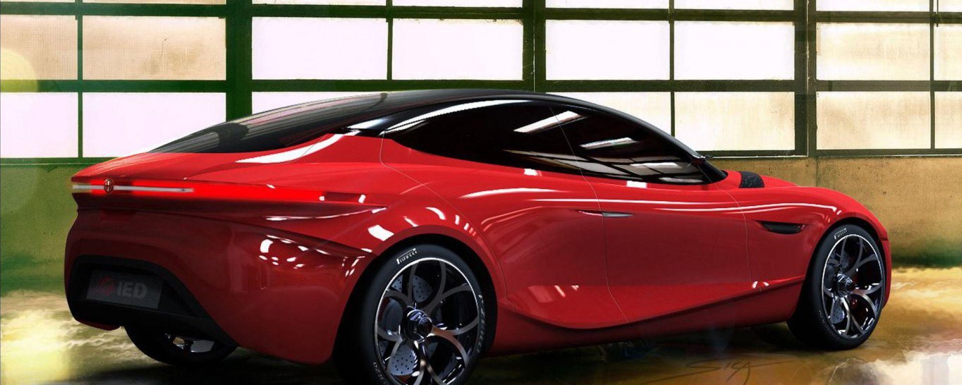 Alfa Romeo Gloria, nuove immagini dal web