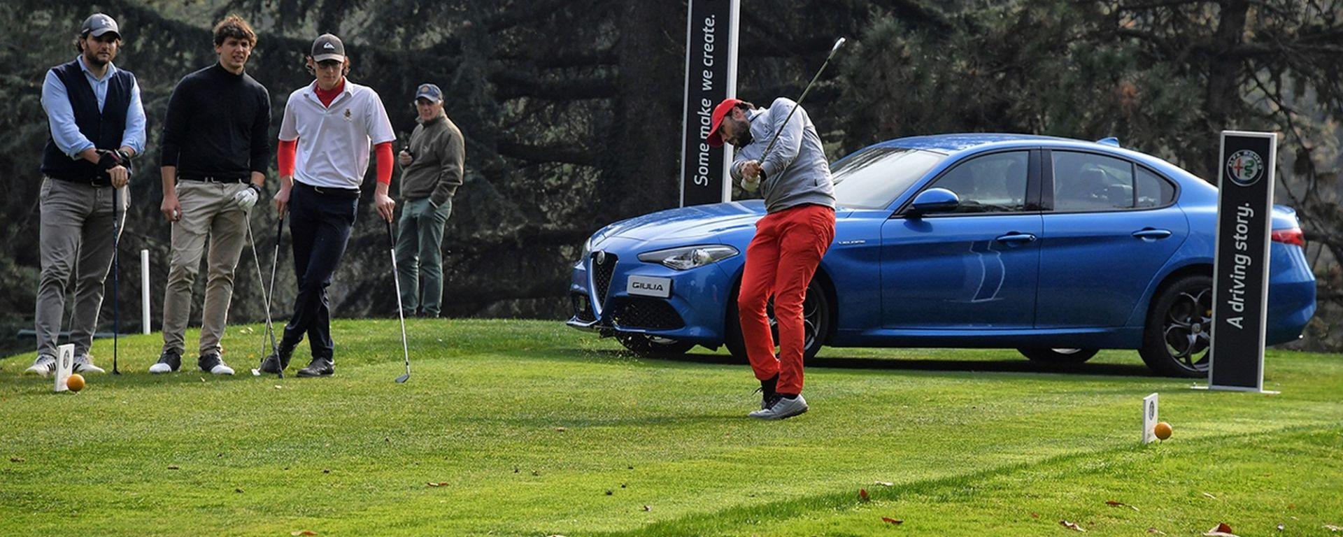 Alfa Romeo Golf Challenge a Villa d'Este (Como)