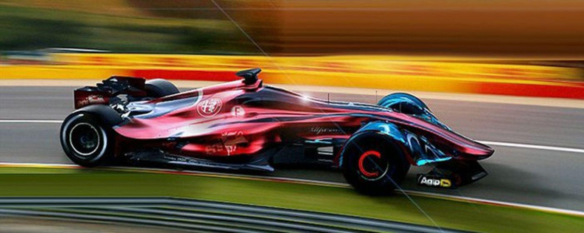 Alfa Romeo - il concept della Formula E