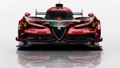 Alfa Romeo, prototipo di auto da corsa per Le Mans. Il rendering
