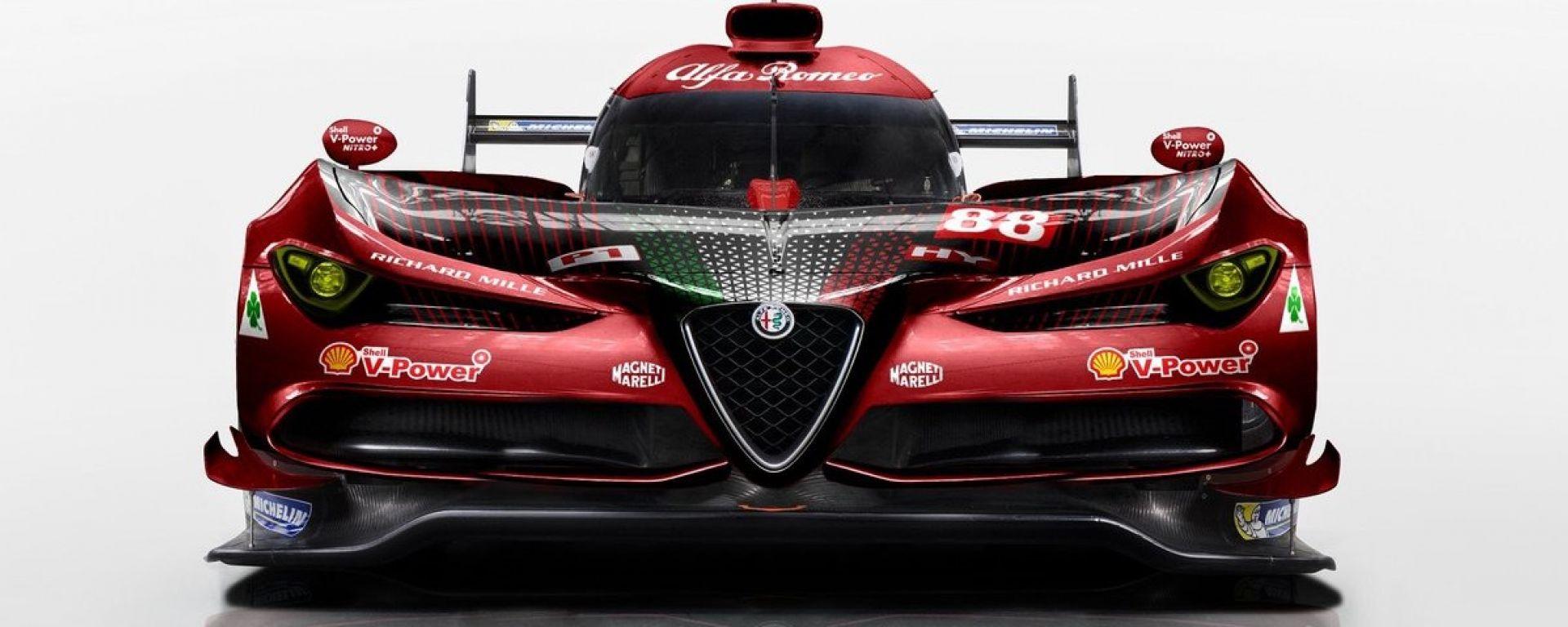 Alfa Romeo, il rendering di un prototipo Le Mans. Sogno o realtà?